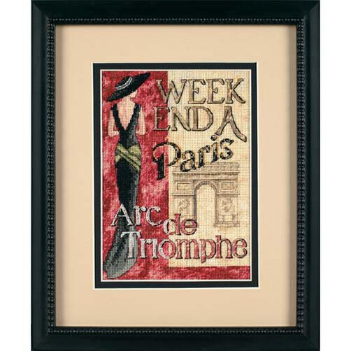 Weekend in Paris, Counted Cross Stitch_65049