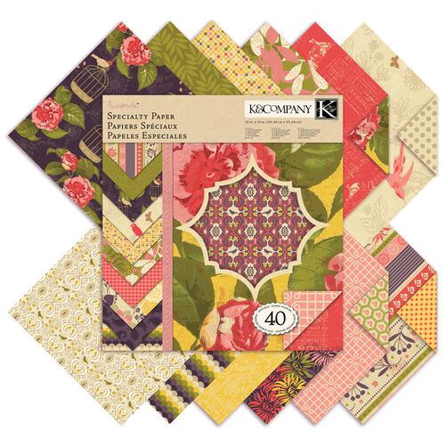 Handmade Lofty Nest 12x12 Specialty Paper Pad_30-387119