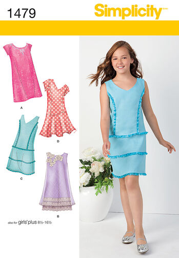 Girls' & Girls' Plus Shift Dresses