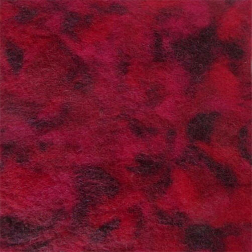 Garnet Blended Wool Felt_72-73995