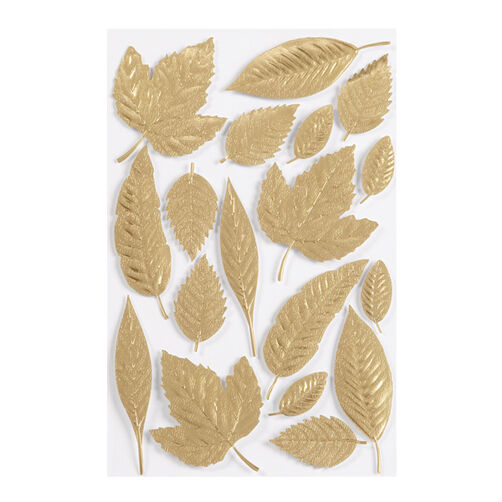Elegant Nature Leaf Stickers_41-00403