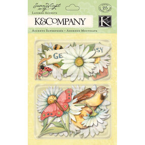 Susan Winget Spring Blossom Daisy Layered Accents_30-598751