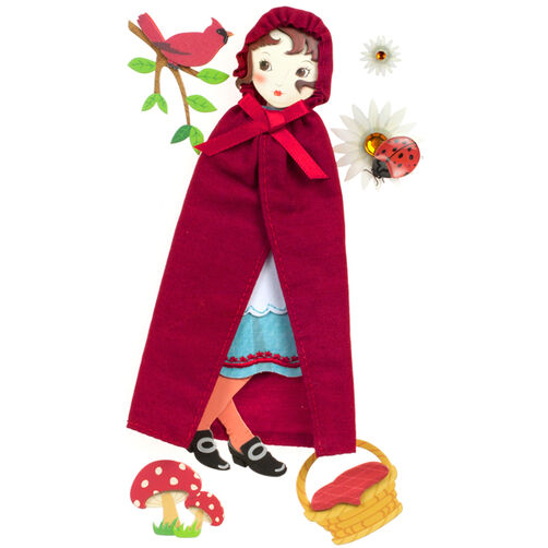 Poseable Red Riding Hood_50-50531