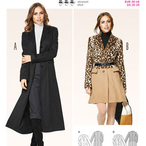 Burda Style Jackets, Coats, Vests