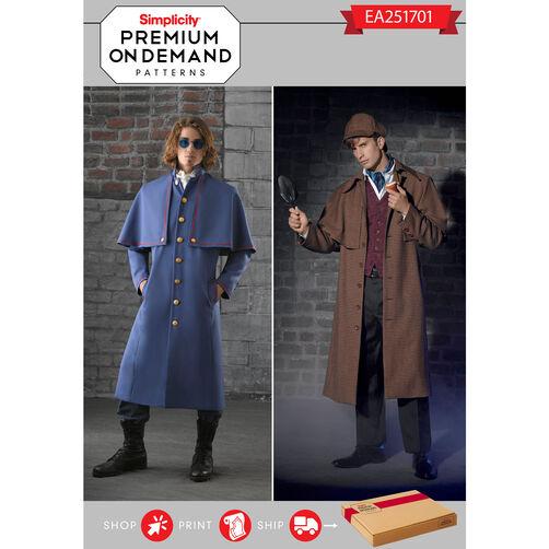 Simplicity Pattern EA251701 Premium Print on Demand Costume Pattern