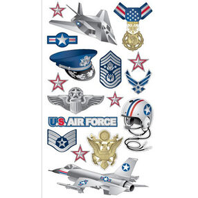 Air force stickers _52-00799