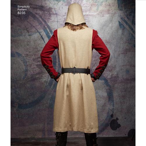 Simplicity Pattern 8235 Men S Cosplay Costume Pattern