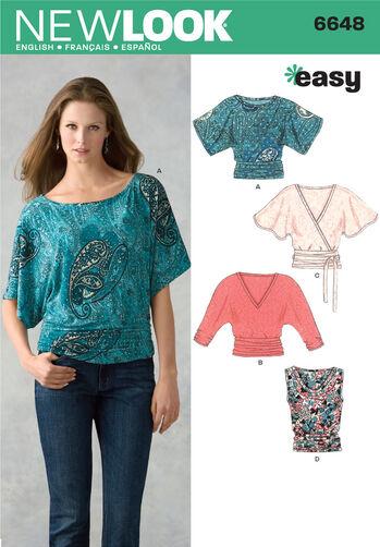 Misses Knit Tops