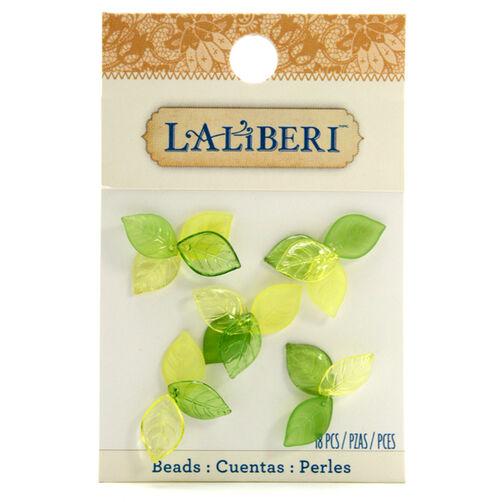 Tiny Green Leaf Beads_56-10027