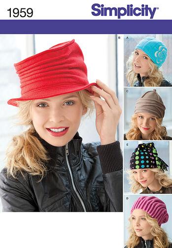 Misses' Fleece Hats