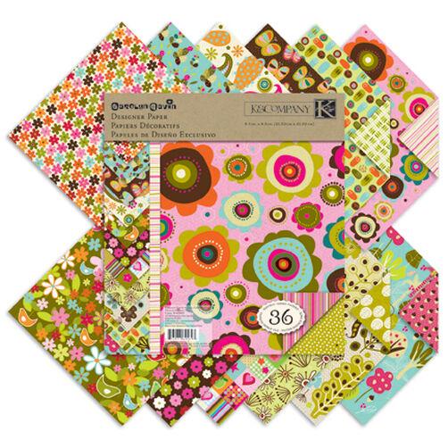 Carolyn Gavin Greenhouse 8.5 x 8.5 Designer Paper Pad_30-625693