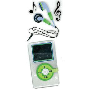Head Phones Slims Stickers_50-40040