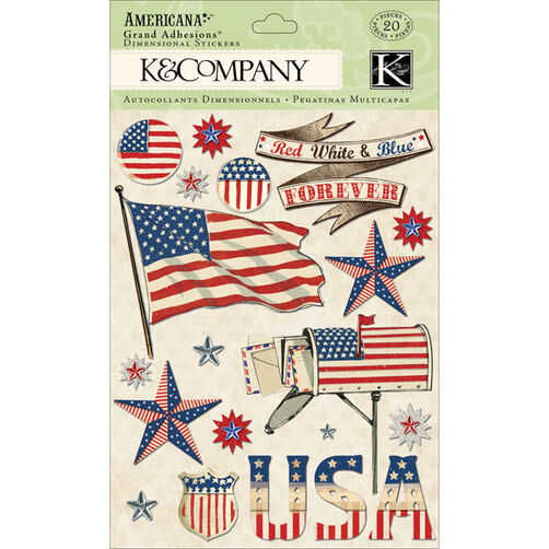 Americana Flag Grand Adhesions_30-614314