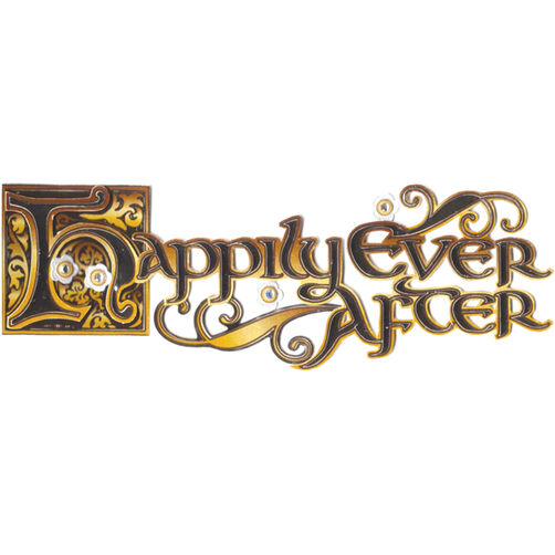 Happily Ever After Title Stickers_SPJT273