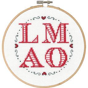 LMAO, Counted Cross Stitch_70-74627