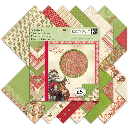 Yuletide 12x12 Specialty Paper Pad_30-592803