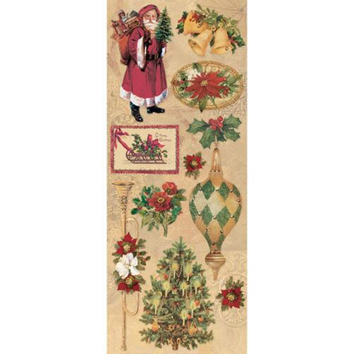Elizabeth Brownd Holiday Images Embossed Stickers_551817