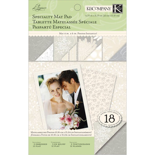 Elegance Specialty Mat Pad  _30-302471