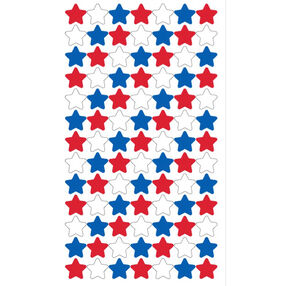 4th of July Stars Stickers_52-00585