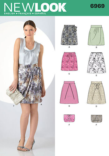 Misses' Skirts & Purse