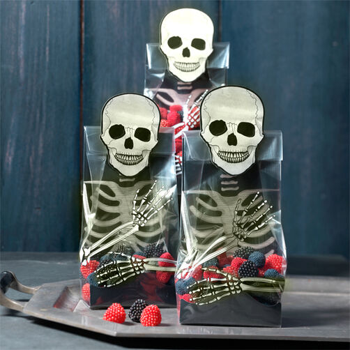 Gothic Manor Skeleton Treat Bags_48-20246