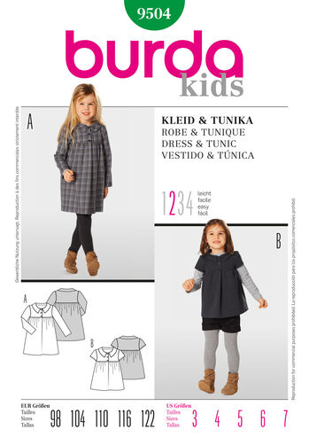 Burda Style, Dress & Tunic