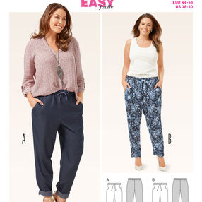 Burda Style Pattern 6678 Women's Pants