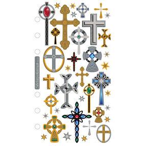 Classic Stickers Crosses_SPRG01