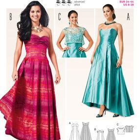 Burda Style Pattern 6777 Dresses