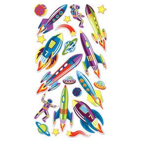 Retro Rockets Metallic Stickers_SPP1MET16