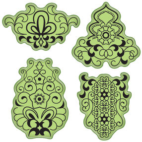 Mehndi Cling Stamps_65-32056