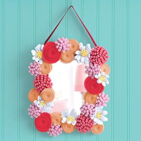 American Girl Crafts Flowered Mirror Kit_30-726352