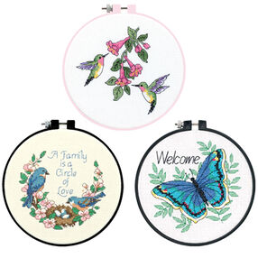 Flying Friends Bundle, Counted Cross Stitch_180506