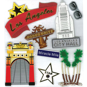 California Los Angeles Stickers_50-20214