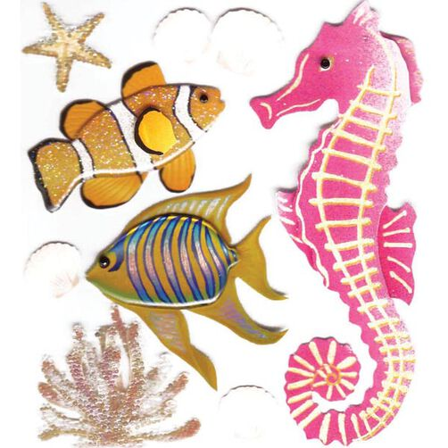 Sea Creatures Stickers_SPJB620