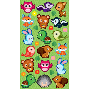 Cutie Critters Stickers_52-00513