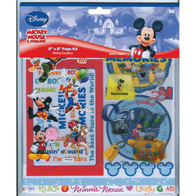 Mickey Vacation 8 x 8 Page Kit_DMPK5