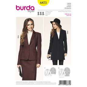 Burda Style Pattern 6875 Jackets, Coats, Vests