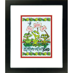 Frog Parking, Counted Cross Stitch_70-65148