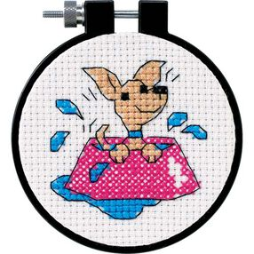 Perky Puppy, Counted Cross Stitch_73039