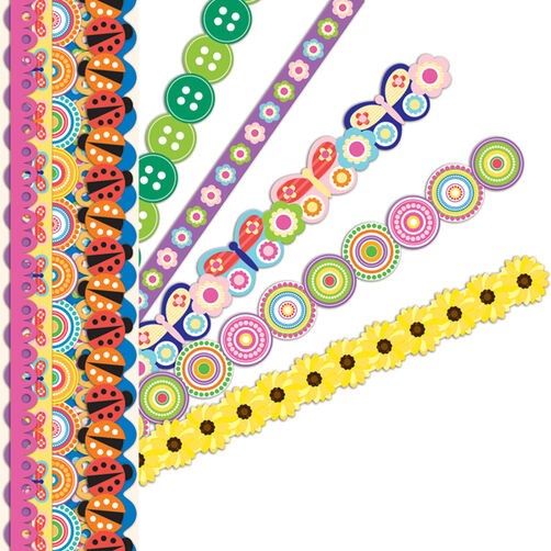 Summer Bright Adhesive Borders_30-595118