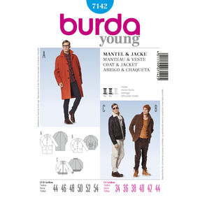 Burda Style Pattern 7142 Coat & Jacket
