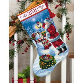 Holiday Glow Stocking, Counted Cross Stitch_70-08952