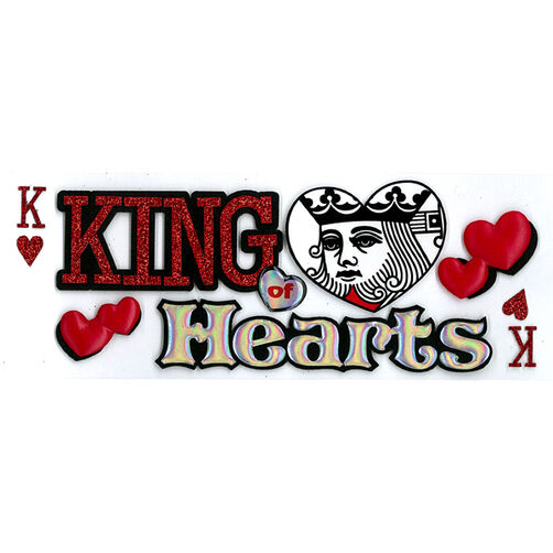 King Of Hearts Stickers_50-60010