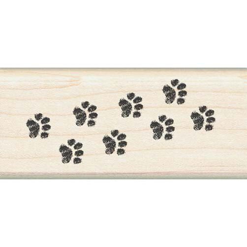 Kitty Cat Paw Border_08886