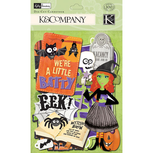Kelly Panacci Halloween Icon Die-cut Cardstock_30-622456
