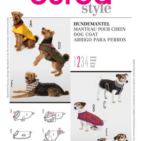 Burda Style Pattern 7752 Dog Coat
