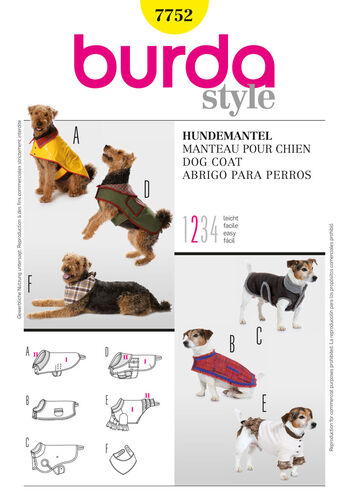 Burda Style, Dog Coat