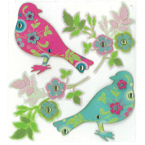Printed Birds  Parcel Dimensional Stickers_50-20148