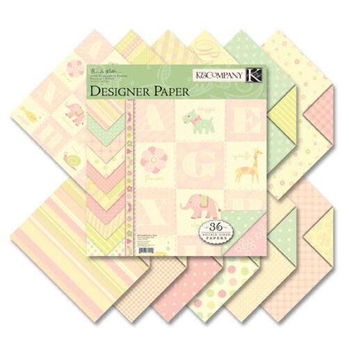 Brenda Walton 12x12 Small Wonders Girl Two-Sided Paper Pad_625020